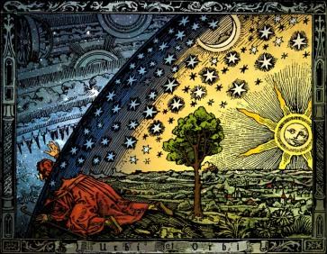 Universum – C. Flammarion, Ξυλογραφία, Παρίσι 1888
